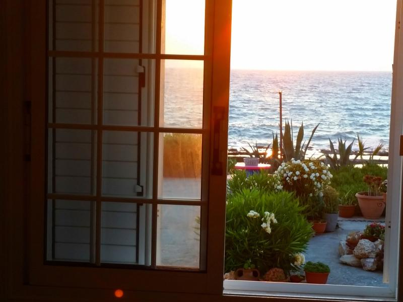 Sea view from the kitchen