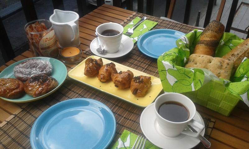 Your breakfast in the balcony