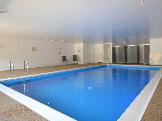 Shared heated indoor swimming pool