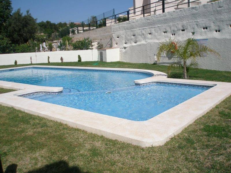 Shared outdoor pool with children pool