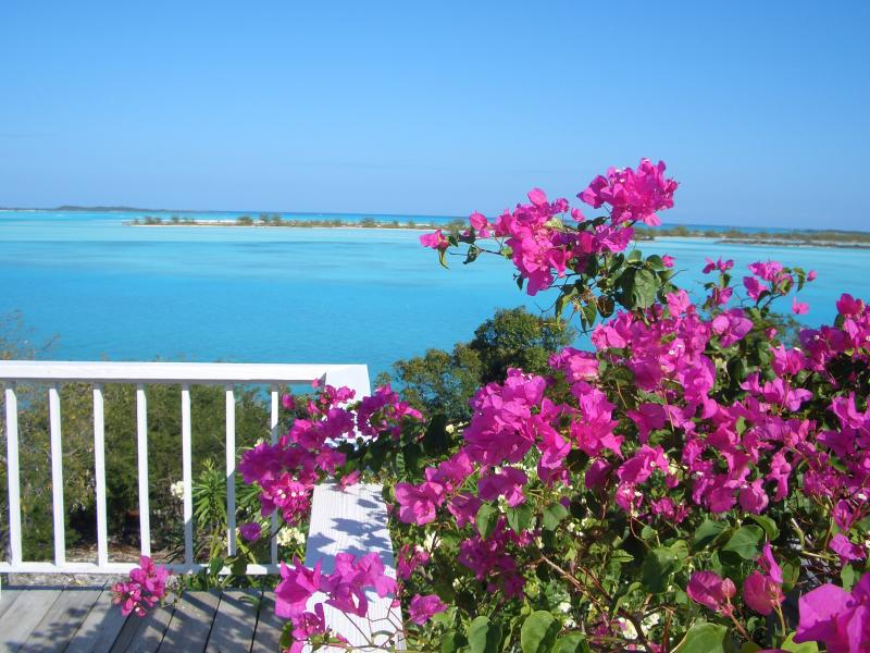 View of Moriah Harbor Cay and beyond