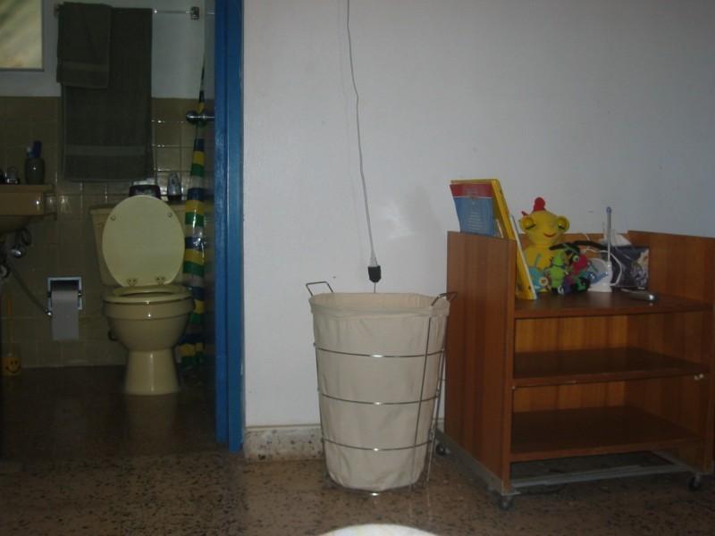Deuxième salle de bain de la chambre.