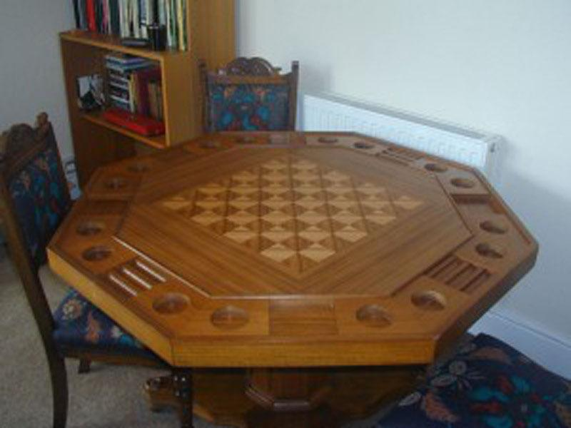 Games table - Chess or Draughts