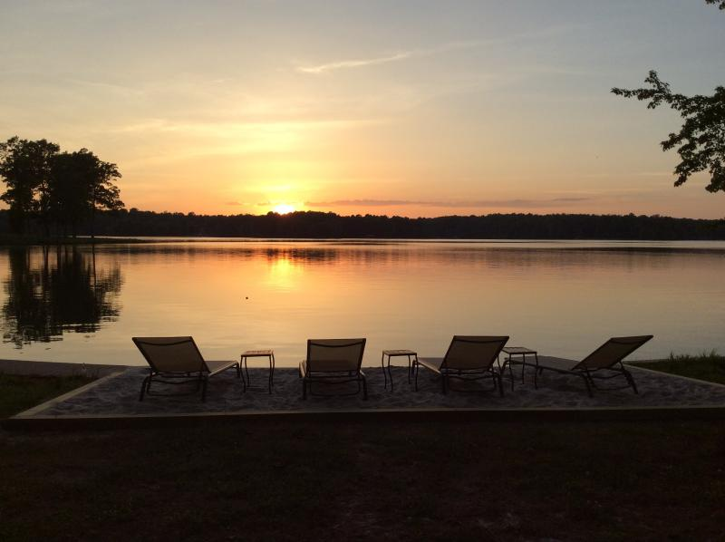 Enjoy the best sunsets on the Lake . . . All Year Round !!