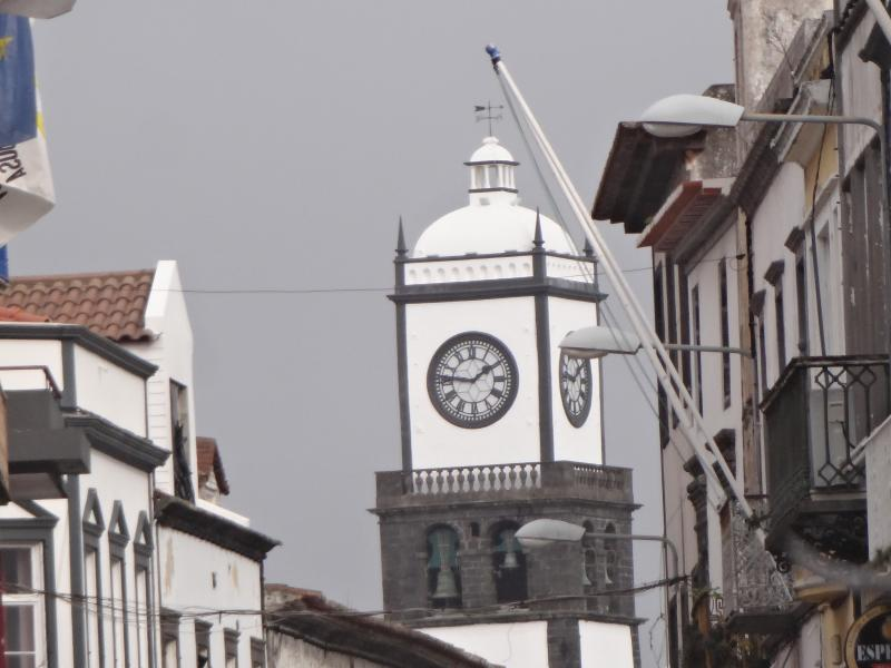 Matriz -downtown Ponta Delgada-  it's time for a vacation...