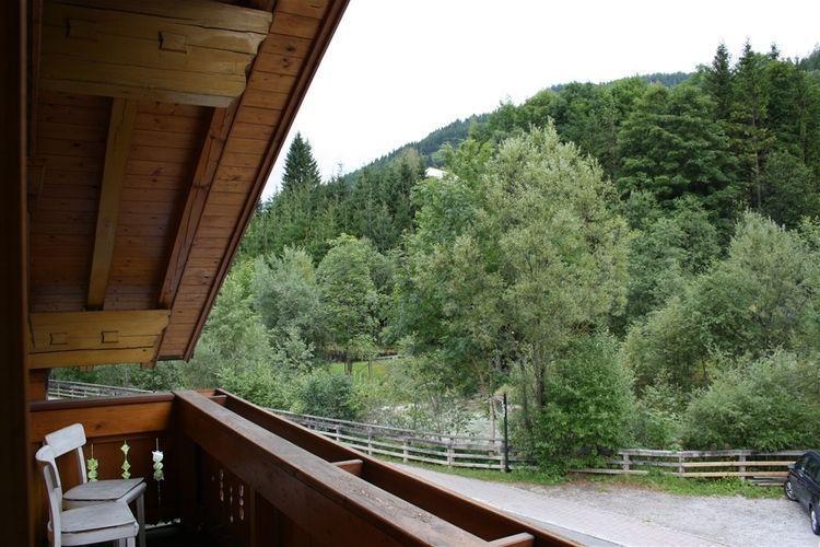 Vista dal piccolo balcone