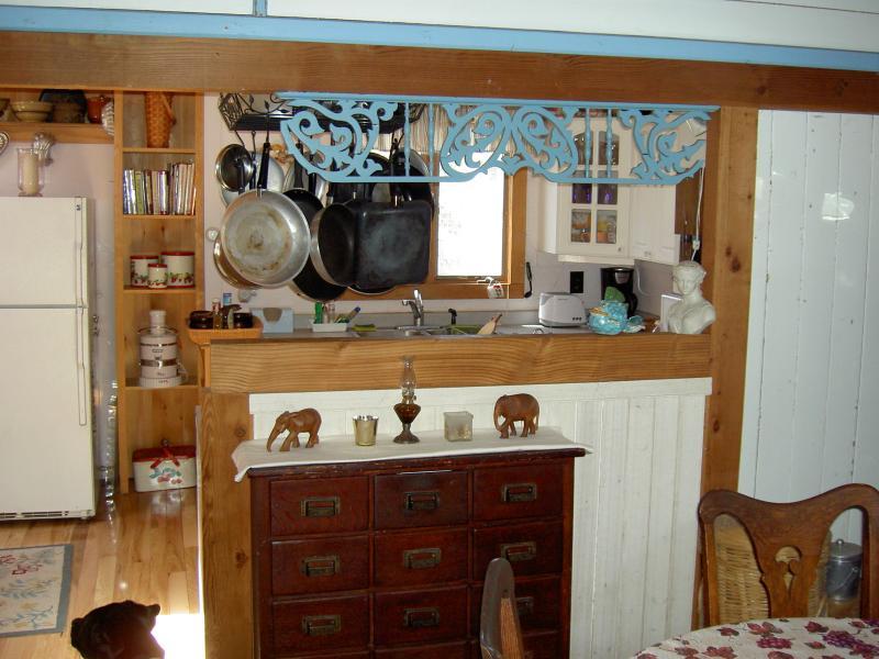 matsalen öppen för kök