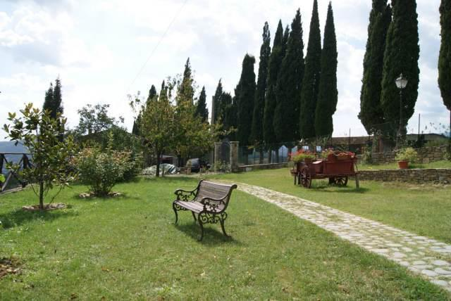 The garden with panoramic views
