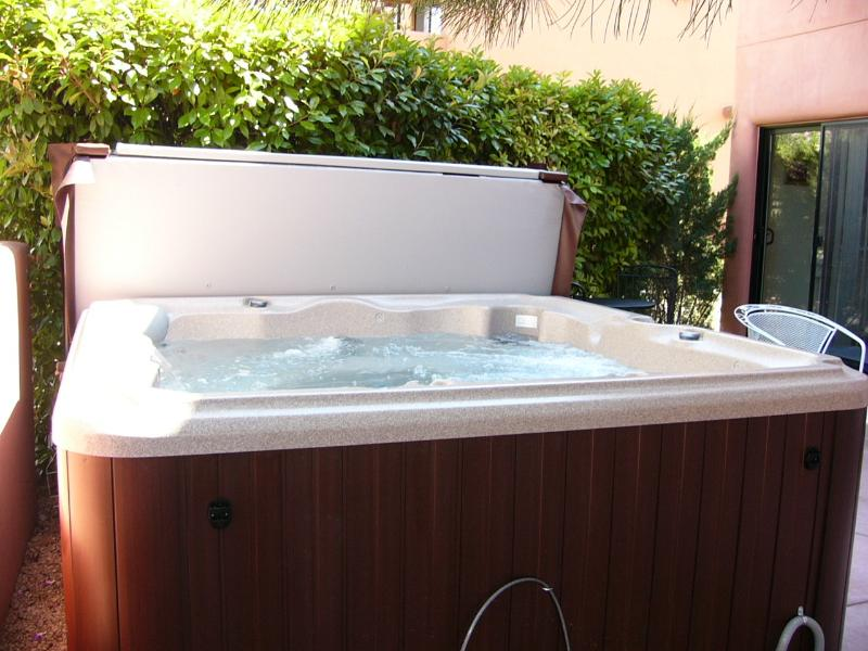 Hot Tub ready for your arrival