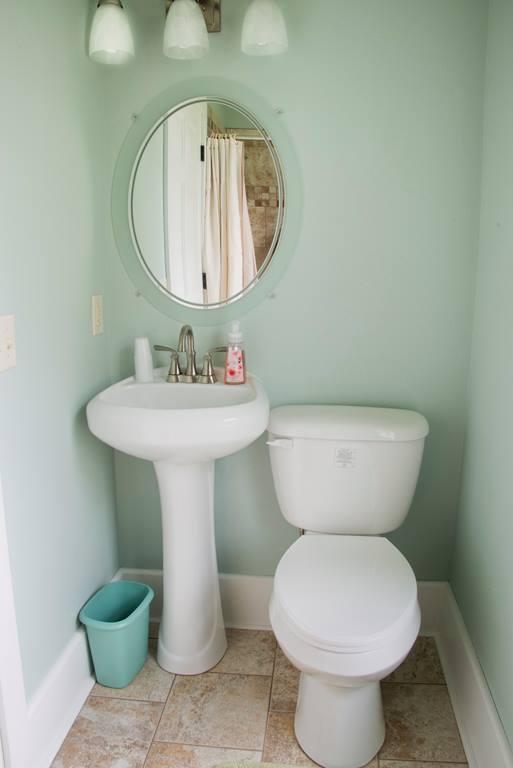 Segundo piso cuarto de baño con ducha