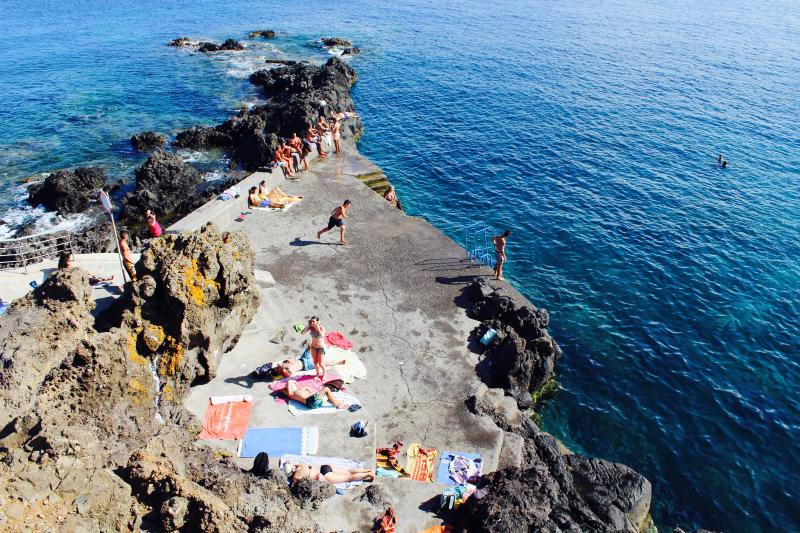 Levadas walks and Sea on Madeira Island Portugal, holiday rental in Canical