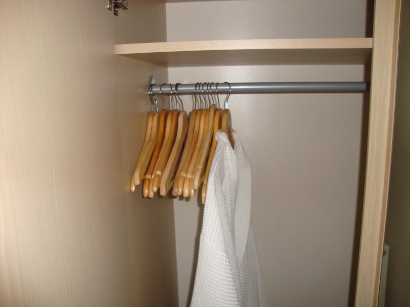 Dressing gown supplied in standard rooms