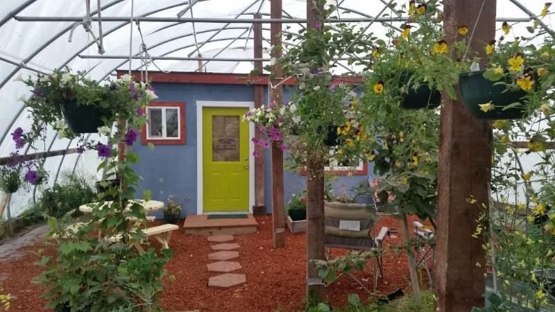 Cottage in a Greenhouse, location de vacances à Fritz Creek