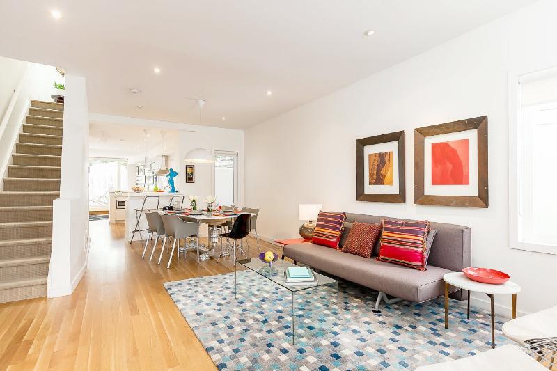 Open Concept Main Floor. Livingroom, Diningroom, Kitchen, and Den