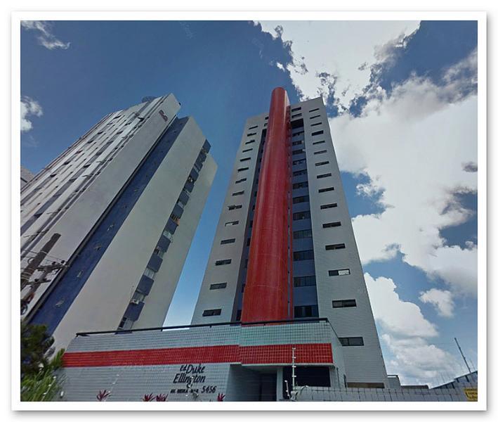 Façade of the building