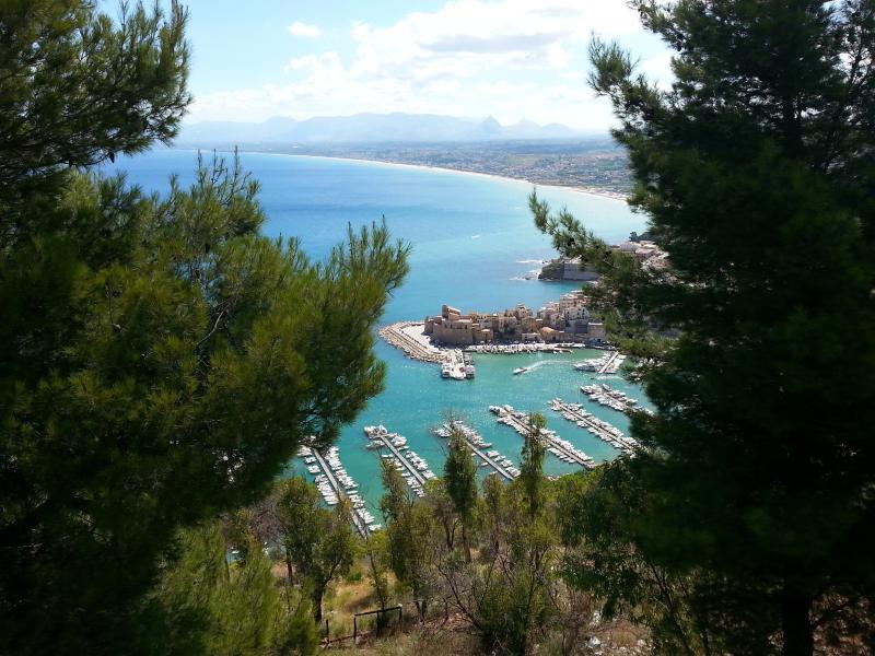 The port of Castellammare del Golfo
