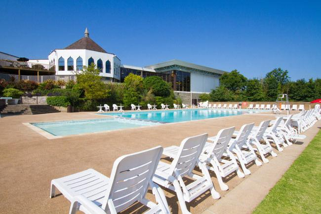Our park's outdoor pool is included in the price of your stay.