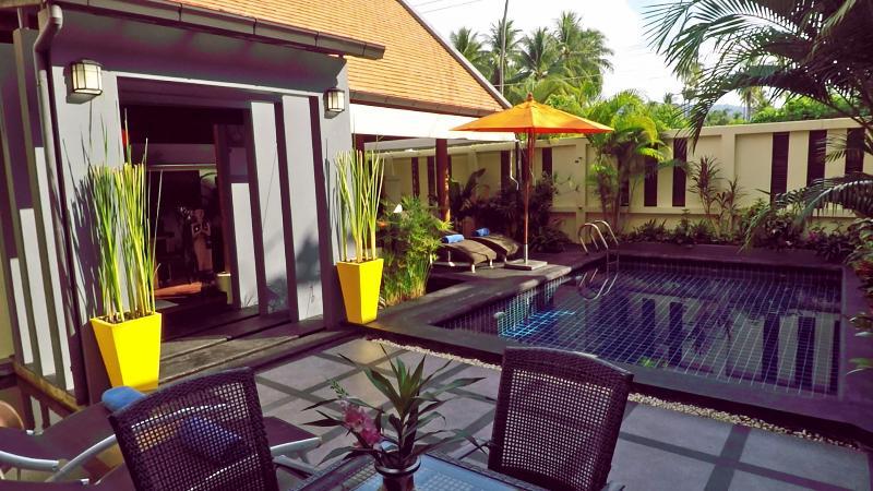 Serene setting at beautiful Hideaway Villa