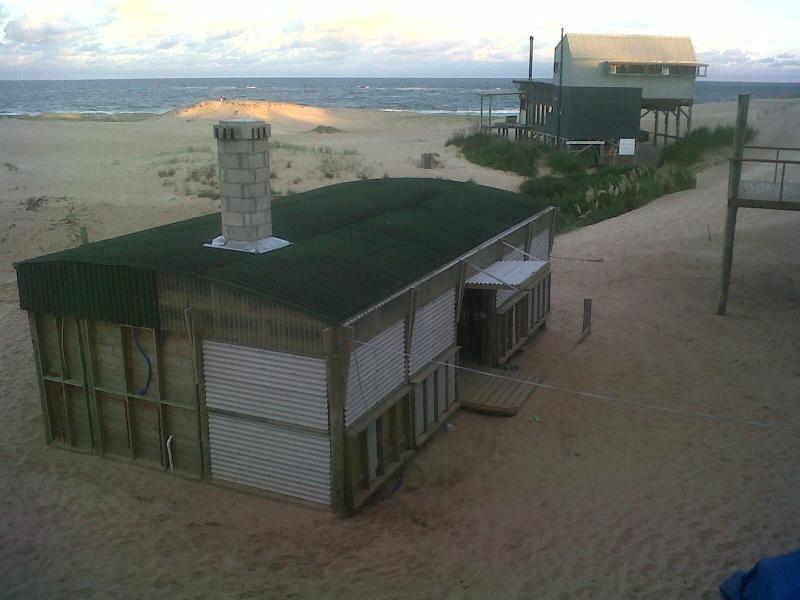 La Amistad Cottages La Barbacoa Lounge View from #5 Unit