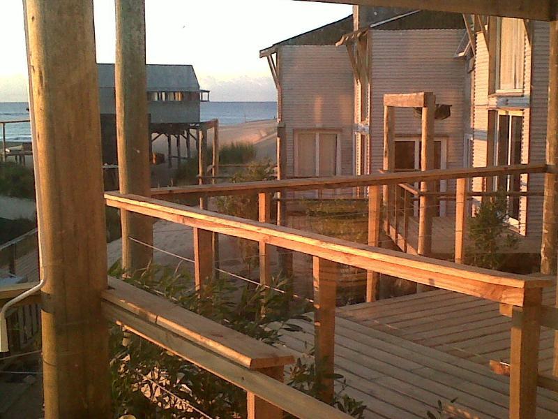 La Amistad Cottages View from the #6 Unit Deck.