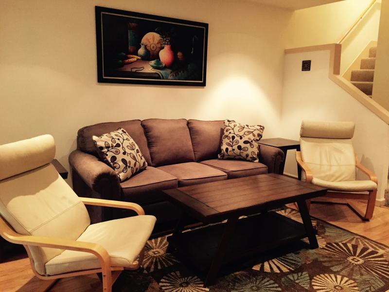 Living Room Comfy Queen Sofa Sleeper