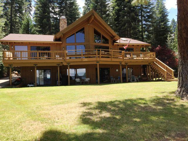 Hilder - Almanor West LAKEFRONT with Dock & Buoy, holiday rental in Westwood