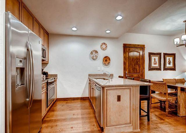 Blue Sky Kitchen Breckenridge Lodging Vacation Rentals
