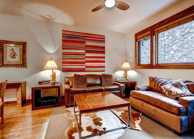 Blue Sky Living Area Breckenridge Lodging Vacation Rentals