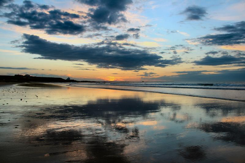 Bamburgh sunset photo kindly provided by Barnsley Victor
