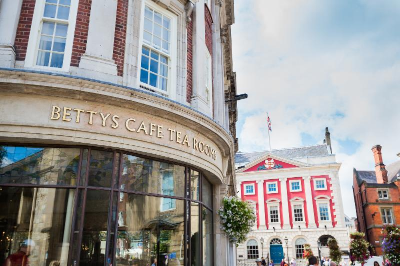 Betty's famous tearooms