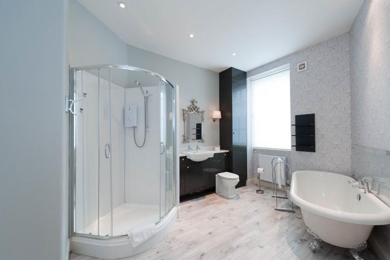 The Master Bedroom with Ensuite