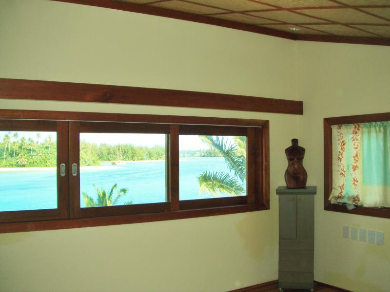 Panoramic views from the master room.