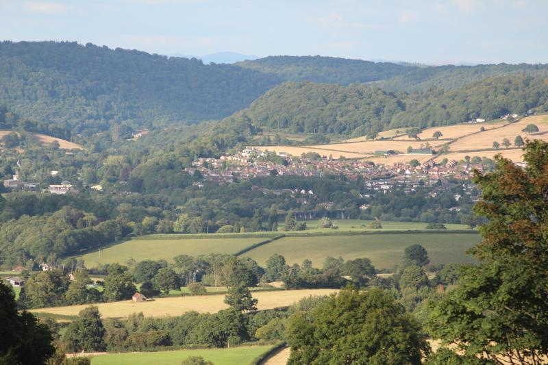 View of Monmouth from our Garden.
