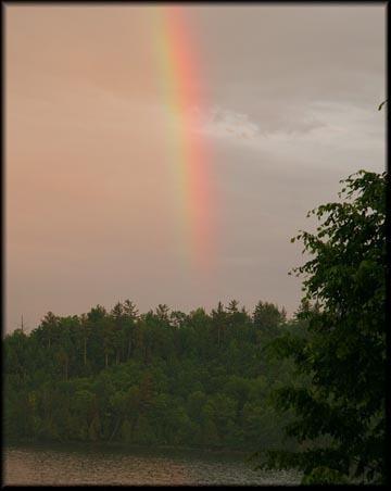 A nice thick rainbow.