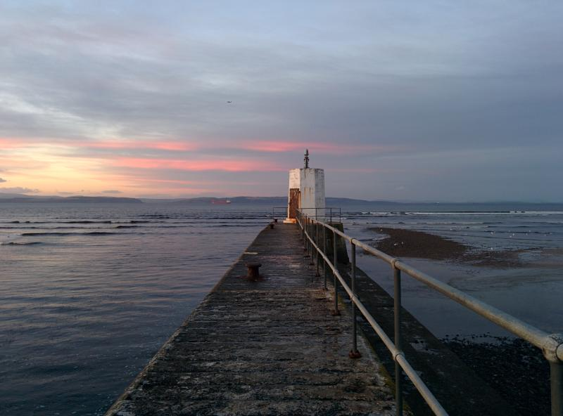 Experience the beautiful sunsets of Nairn, just 150m from the house, watch out for dolphins!