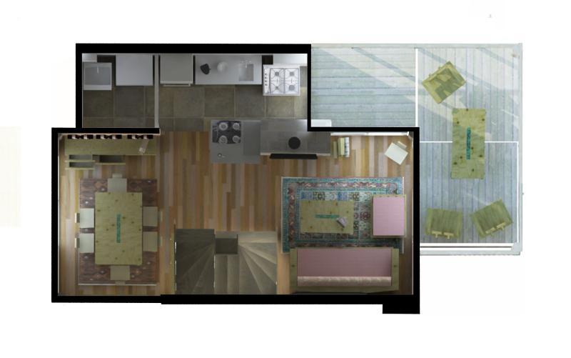 La Amistad Cottages #3 Unit Second Floor