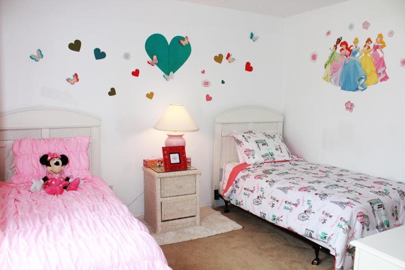 2nd floor bedroom # 2 two twins new linens