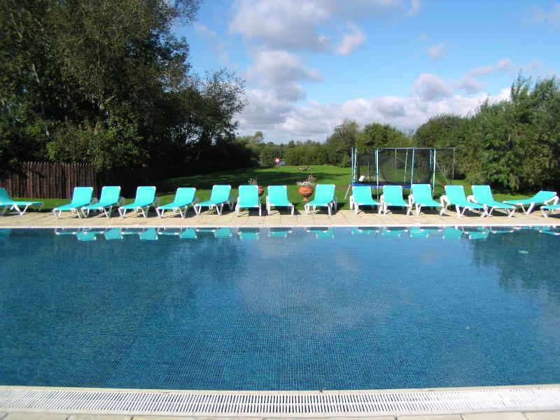 Mill Village heated pool