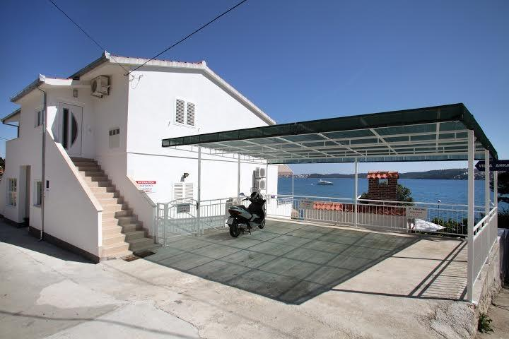 Your covered parking space next to the villa includes in the price