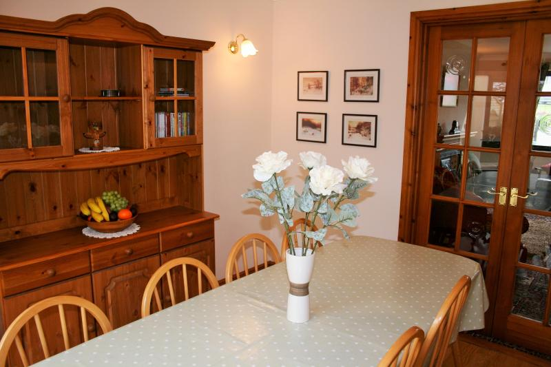 Dining room - with walking books, maps of all Cumbria and games