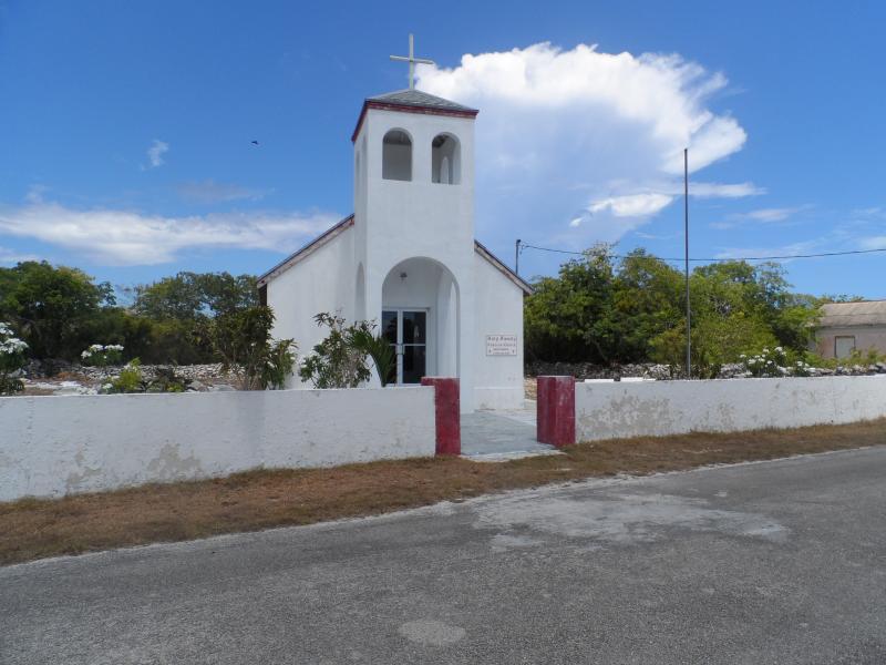 Una de las muchas iglesias