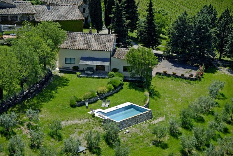 Stunning Country Villa at Montefili in Greve, Chianti, location de vacances à Badia a Passignano