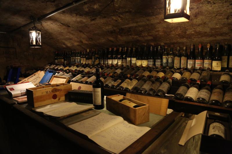 Tienda de vinos en Lucca