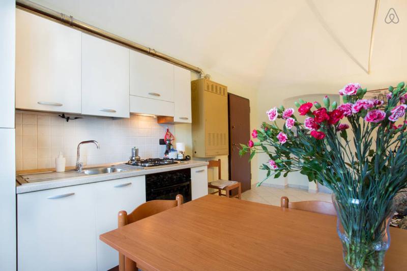 Casa Vacanze Fusina - Dogliani - Soggiorno con angolo cottura