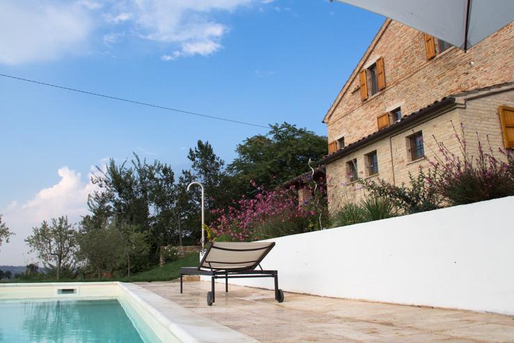 A piscina Villa Fiore
