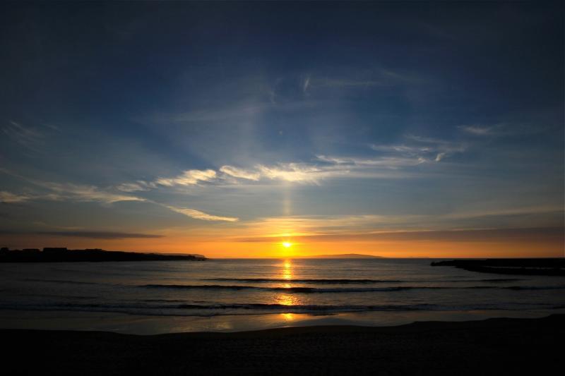 Sunset on West Strand