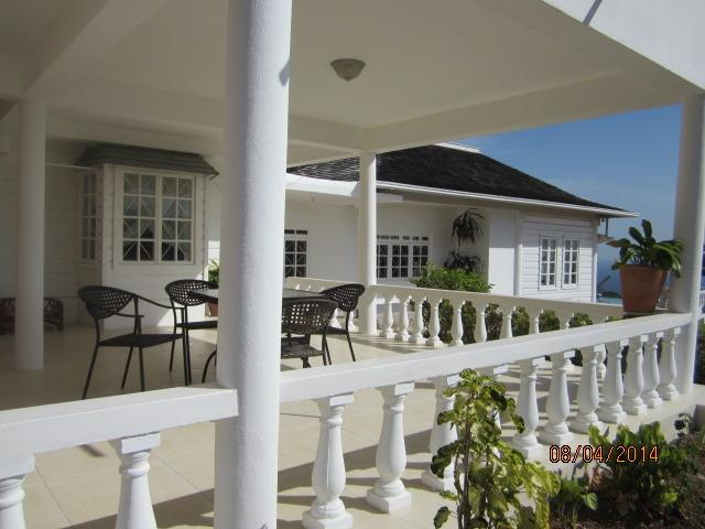 Outer side view of Veranda