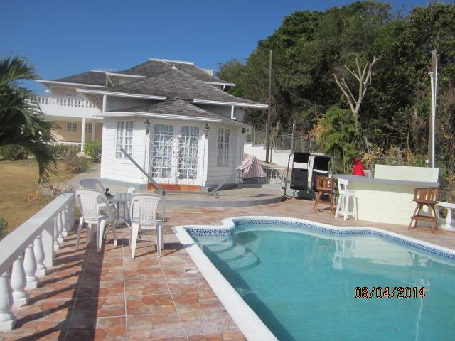 View of pool/Villa