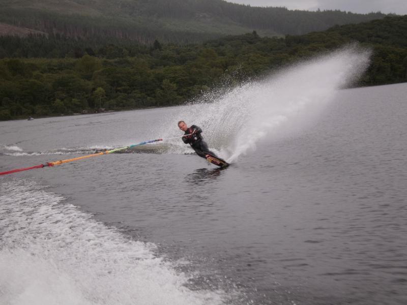 Water ski-ing on Loch Lomond