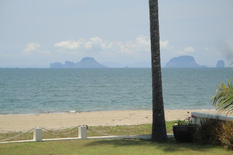 Views towards Railay and Phi Phi - why not try a boat trip